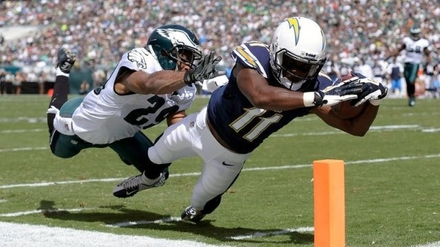 Chargers outgun Eagles in Kelly's Philadelphia debut