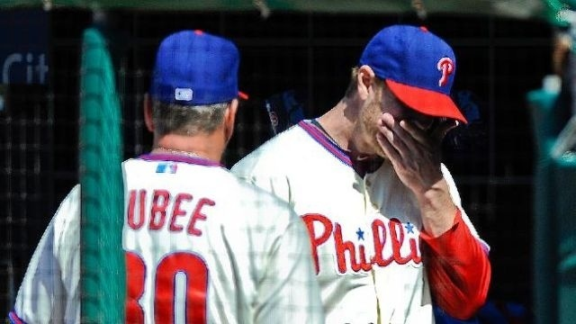 'Doc' to DL as Phillies hammered by Marlins 14-2
