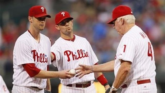 Kendrick falters, Phillies lose to Giants