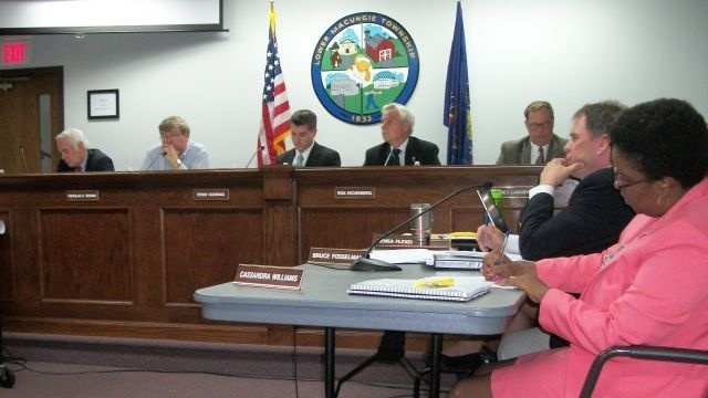 Lower Macungie commissioners send a formal endorsement on shopping center funding