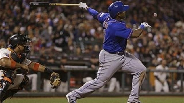 Byrd has slam in 8th, Mets beat Giants 10-6