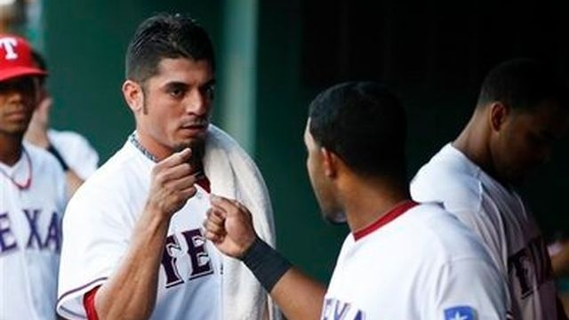 Matt Garza wins Rangers debut, 3-1 over Yankees