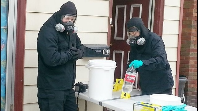 Two arrested in raid of Lehighton meth lab