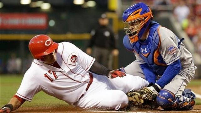 Mets rock Leake, give Reds costly 4-2 defeat