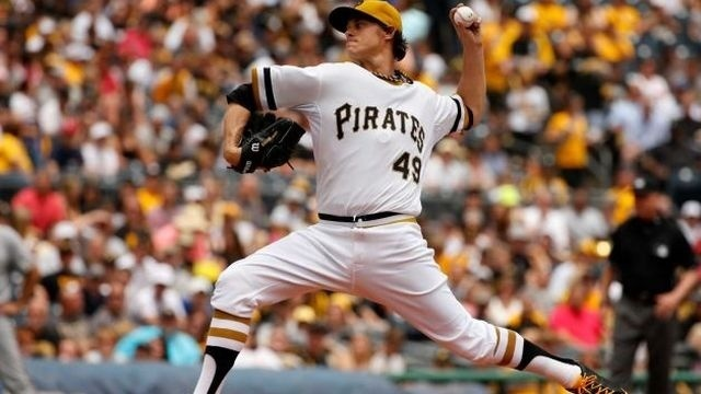 Pirates waste Locke's outing in loss to Brewers