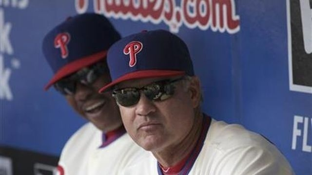 Phillies lose 4-3 after Sandberg made full-time