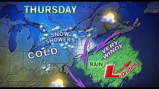 Area missed bulk of winter storm that swung east