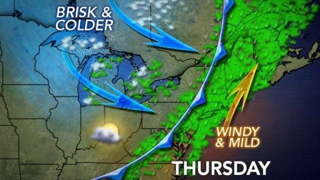 Rain brings colder temps for the weekend