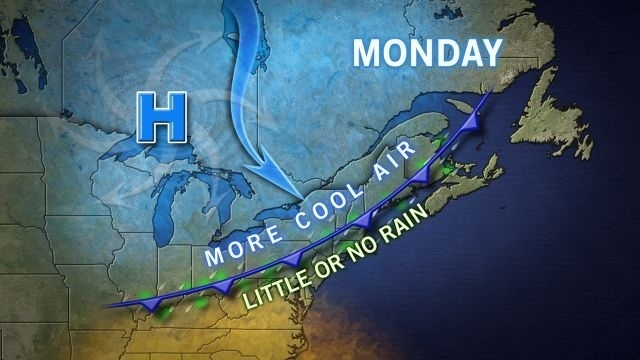 Rainy days ... and Monday? Showers should end by mid-day