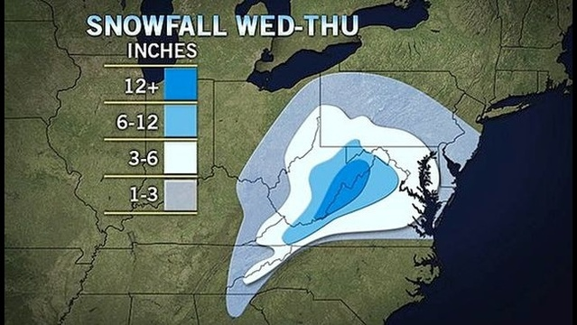 A midweek storm's a'brewin' --what will we see?