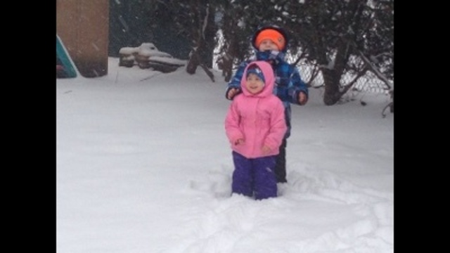 Ava and Aiden enjoying the snow!_24039472