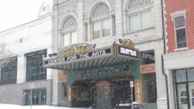 The State Theatre in downtown Easton, Pennsylvania _24036824