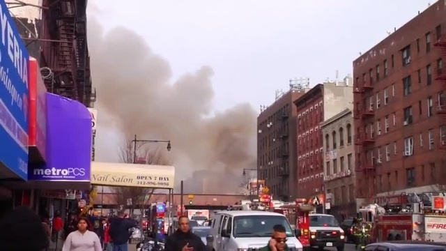 (img13)Uncut video_ Deadly gas explosion, collapse in Harlem_24939042