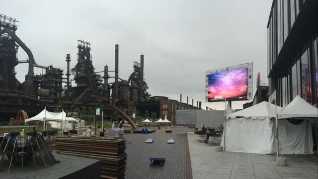 Weather alters ArtsQuest events, FIFA World Cup viewing event