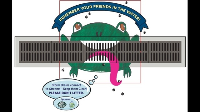 Berks group using art to educate about storm drain pollution