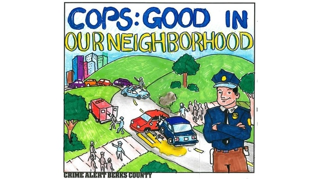Reading student wins Crime Alert Berks County poster contest