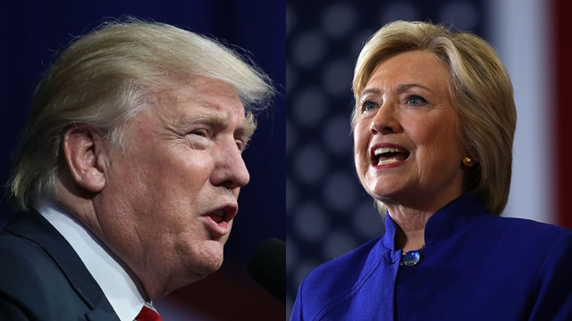 Hillary Clinton, Donald Trump separated by one point in new poll
