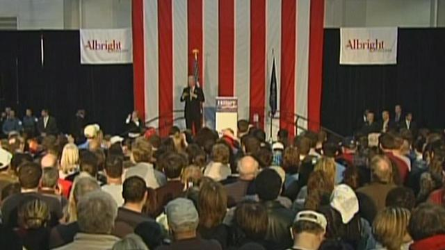 Bill Clinton to stump in Duncansville, other politicians head to Pa.