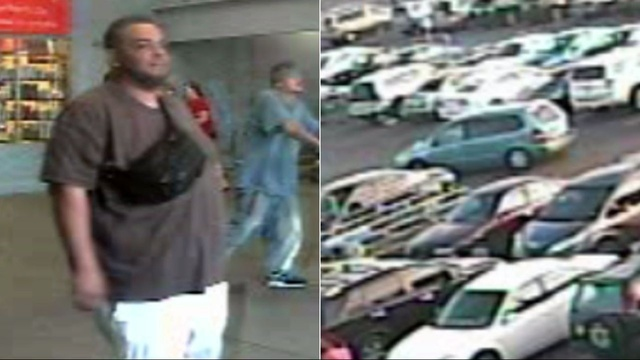 Man sought in threats against Walmart manager