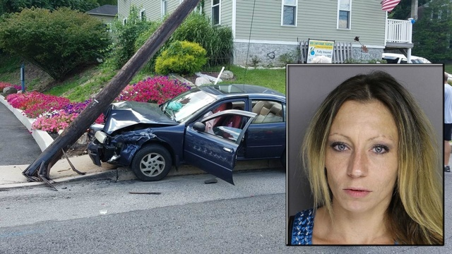 Drugged woman who wrecked car with kids inside sentenced ...