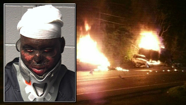 Driver accused in fiery, fatal wreck denied new attorney