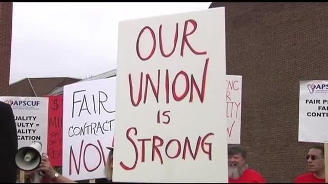 East Stroudsburg University faculty move union office off campus in case of strike