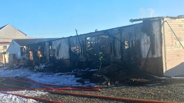Business badly damaged by fire set for rebirth in Berks