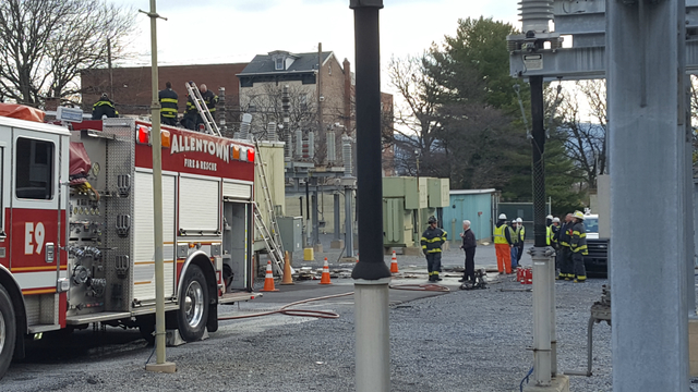 Squirrel blamed for fire at PPL substation