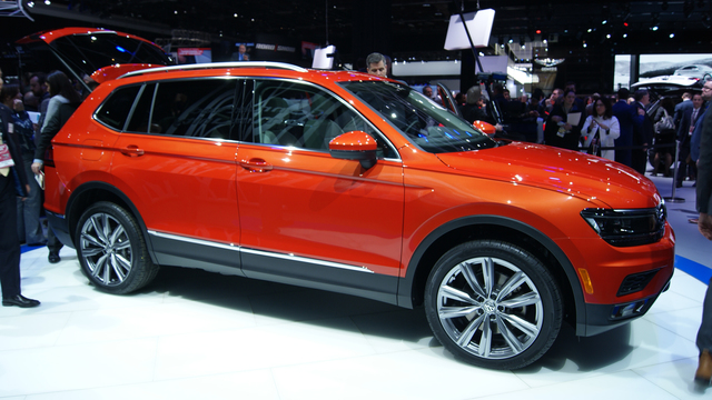 New VW Tiguan Allspace brings extra room to Detroit 2017