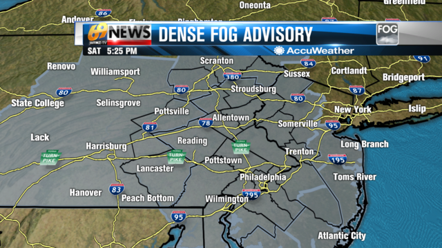 Areas of fog tonight, some dense