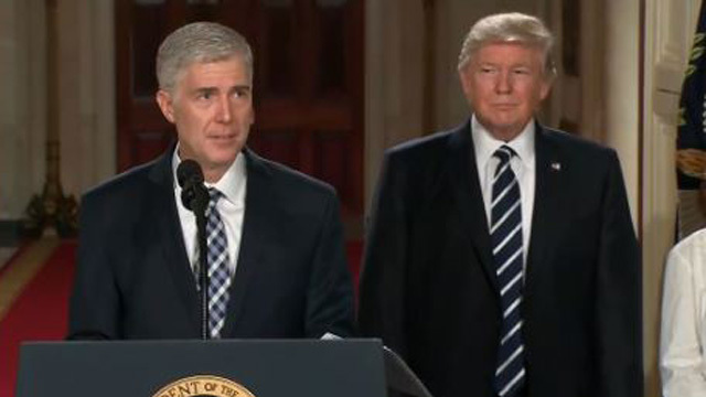 Gorsuch Having no Such luck in Senate Vote