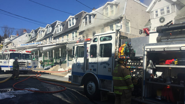 Crews called to fire in Fountain Hill