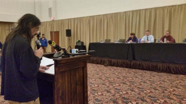 DEP holds public hearing on PennEast Pipeline project