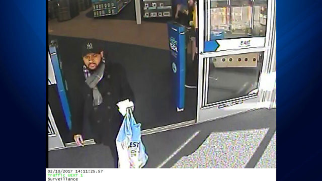 Credit card thief goes on shopping spree