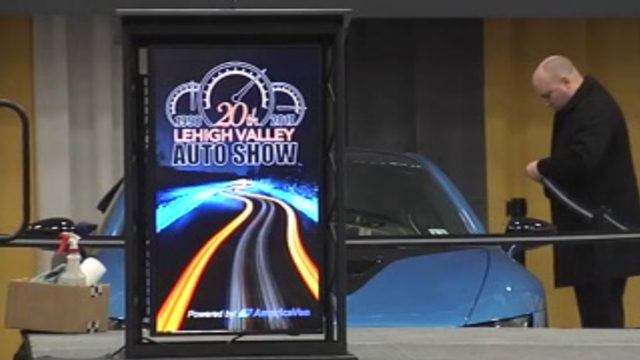 Behind the scenes of the Lehigh Valley Auto Show