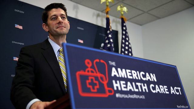 Ryan: 'About 90 Percent' of House GOPs Now Agree on Healthcare Bill