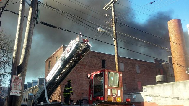 Fire marshal issues report on 3-alarm warehouse fire in Reading