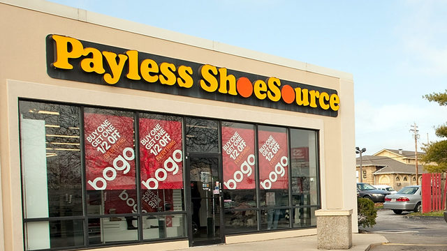 Payless ShoeSource files for bankruptcy protection