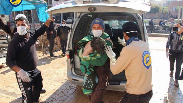 UK confirms sarin use in Syria