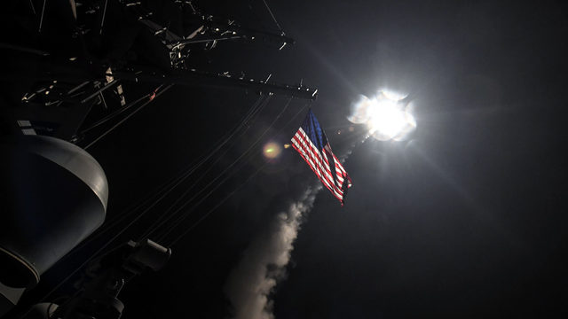 United States joins Syrian war, bombs base