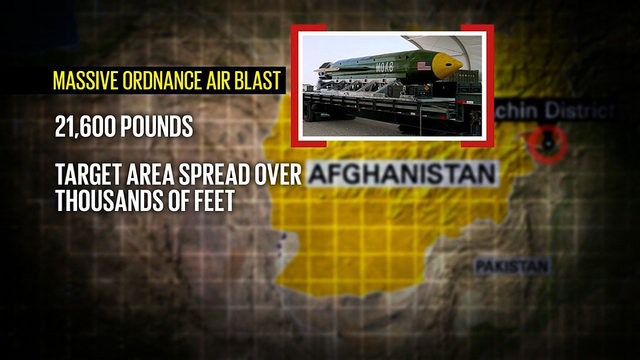 'Mother of all bombs' has Afghans divided