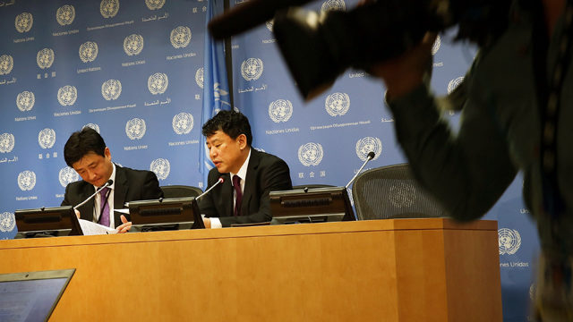 Appealing for calm, China says US wants talks on North Korea