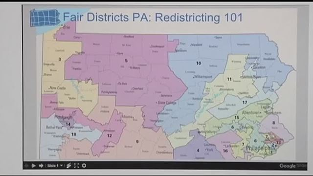 Lawsuit Challenges Pennsylvania Map Of US House Districts WFMZ - Pa us map