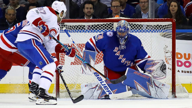 Canadiens top Rangers to take series lead