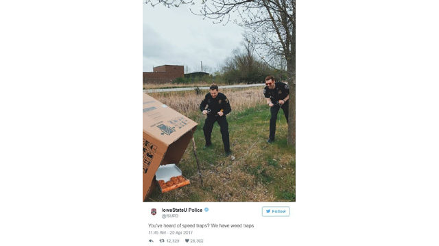 Minnesota police department wins Twitter again with hilarious 4/20 tweet