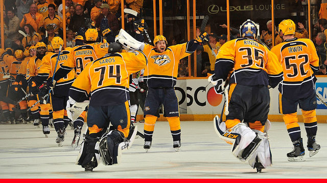 Predators sweep the Blackhawks after a 4-1 win in Game 4