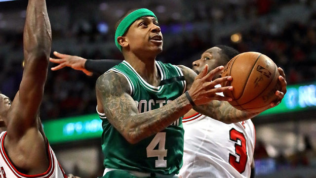 Celtics take Game 4 from Bulls, even series