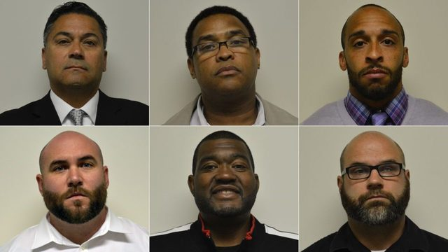 6 former Pennsylvania prison guards accused of inmate abuse