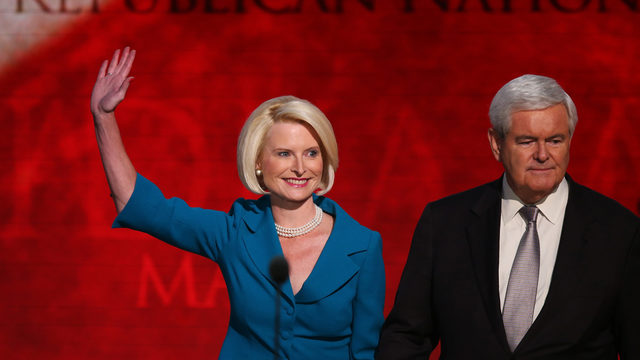 Callista Gingrich will soon be named ambassador to Vatican
