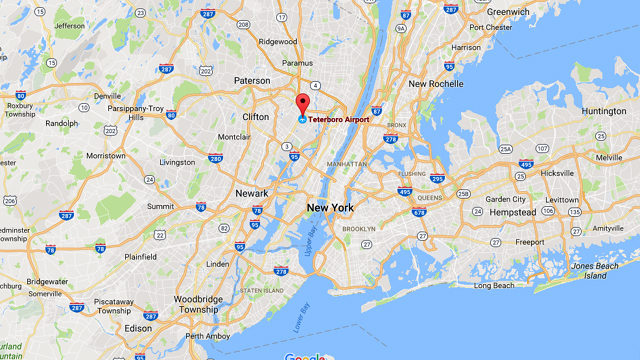 Small jet crashes at New Jersey airport